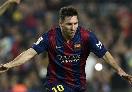 253 veces Messi
