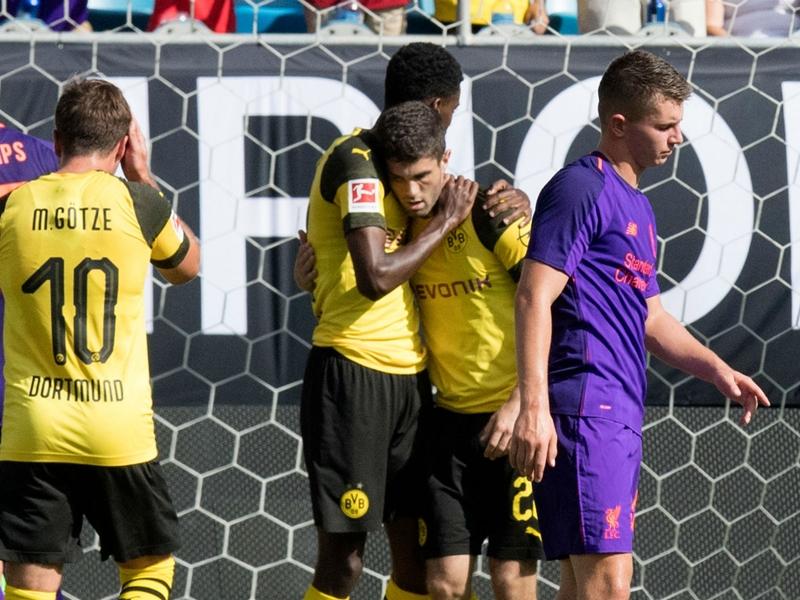 دورتموند يخطف فوز قاتل من ليفربول في الكأس الدولية للأبطال