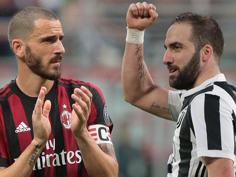 Calciomercato Milan: Higuain e Caldara alle visite, Bonucci torna alla Juventus