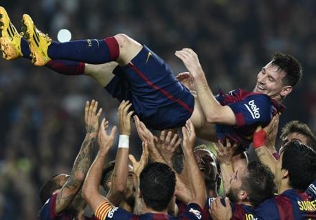 Laporan Pertandingan: Barcelona 5-1 Sevilla