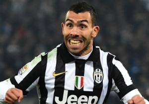 8 - Carlos Tevez (Juventus), 9 buts