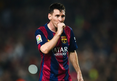 Messi, el mejor visitante de la Champions