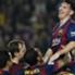 Messi, manteado por sus compañeros
