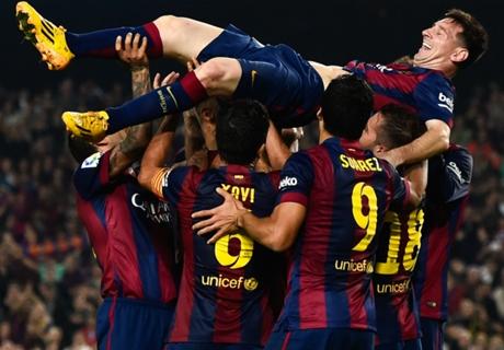 Barça, Suarez félicite Messi