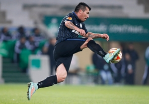 GARY MEDEL (Inter). Domingo, 16.45, visita de Milan. El
