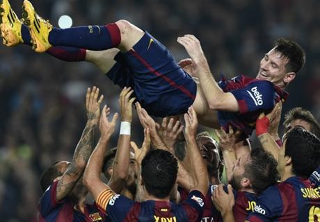 Enrique: Kita Takkan Lihat Seperti Messi Lagi
