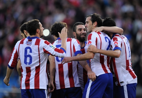 Simeone lauds 'complete' Atletico