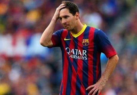 Messi ne yapsa yetişemiyor!