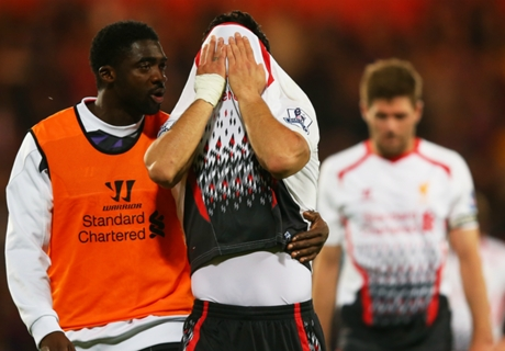 Gallery: Liverpool's Selhurst nightmare