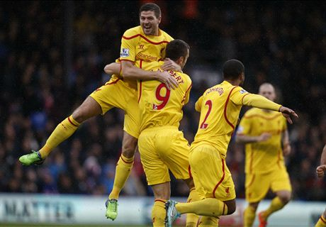 Lambert gives Liverpool early lead - LIVE