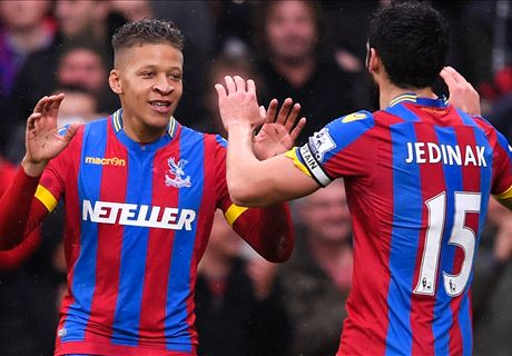 Gayle levels for Palace - LIVE
