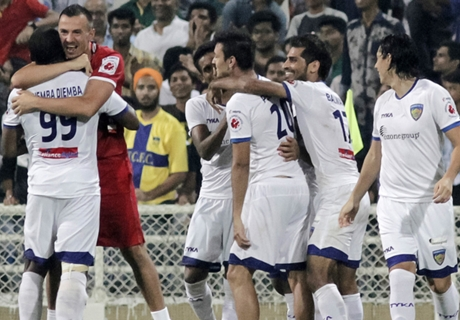Ratings: Mumbai City 0-3 Chennaiyin FC