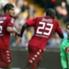 O goleiro Rafael não pôde deter o ataque do Cagliari, 16º da Serie A