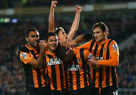 LIVE: Hull City 1-0 Tottenham