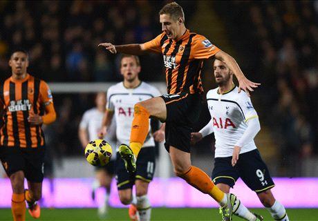 Match Report: Hull City 1-2 Tottenham