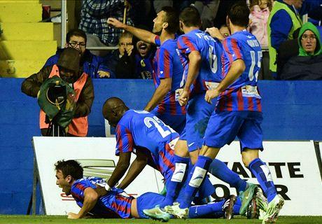 El Levante sufre para pasar (0-0)
