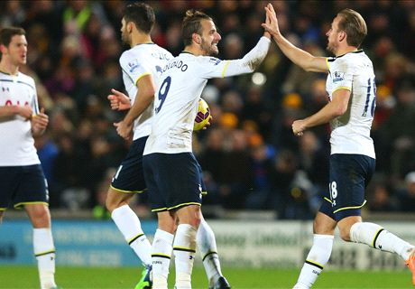 Tottenham Tops Hull