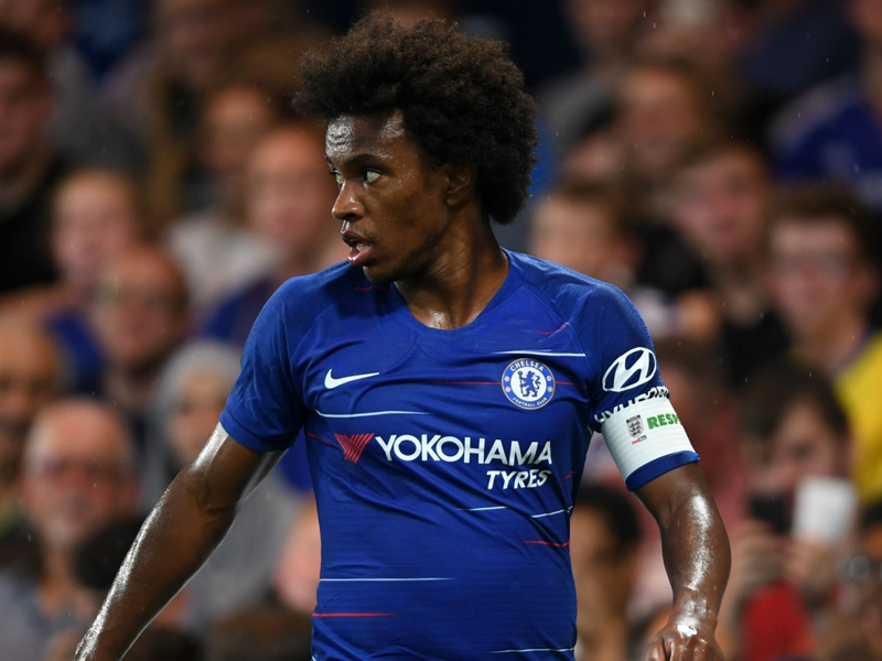 Willian 'never wanted to leave Chelsea' amid Man Utd, Real Madrid & Barcelona transfer talk