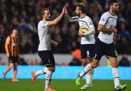 Hull City 1-2 Tottenham: Comeback win