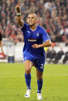 Champions League : Madjid Bougherra (Glasgow Rangers)