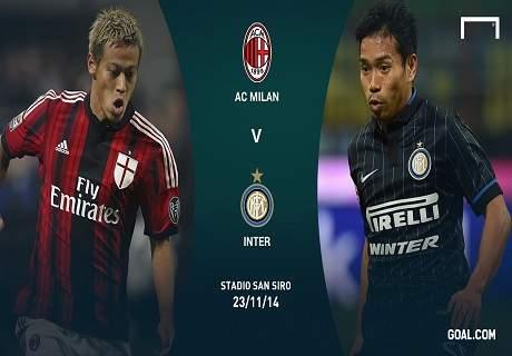 LIVE: Milan vs Inter