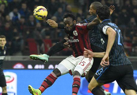 LIVE! Menez trifft für Milan