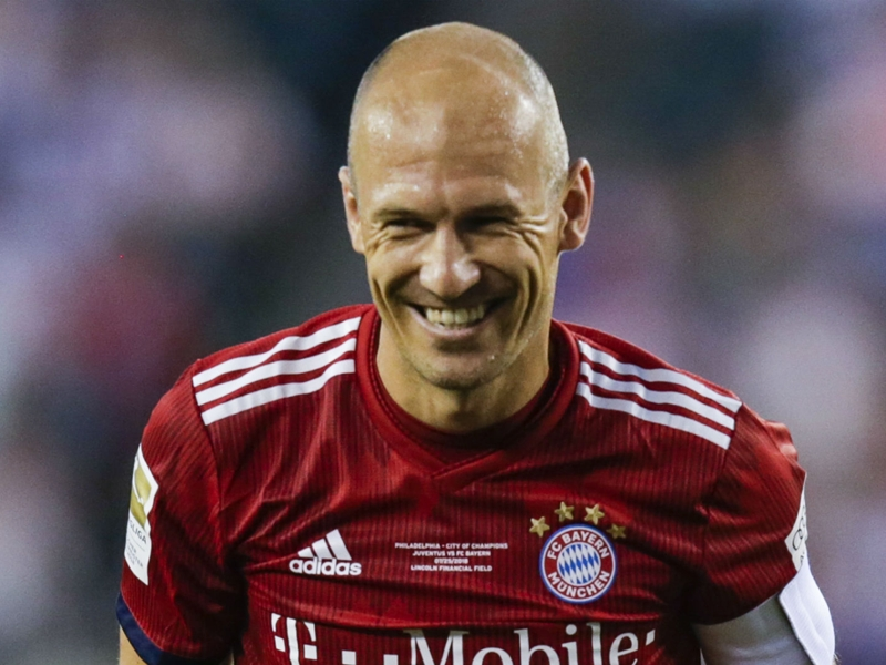 'I don't feel 34' - Robben enjoying current role with Bayern