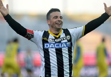 Di Natale scores 200th Serie A goal