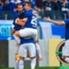 Goulart festeja el 1-0. Cruzeiro tetracampeón.