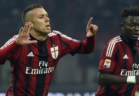 Résumé de match, Milan AC-Inter Milan (1-1)