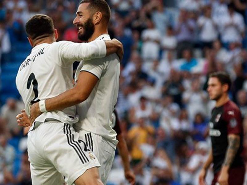 Real Madrid-AC Milan 3-1 - Benzema et Bale offrent au Real une victoire prometteuse pour boucler la préparation