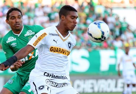 Brasileiro: Chapecoense 2 x 0 Botafogo