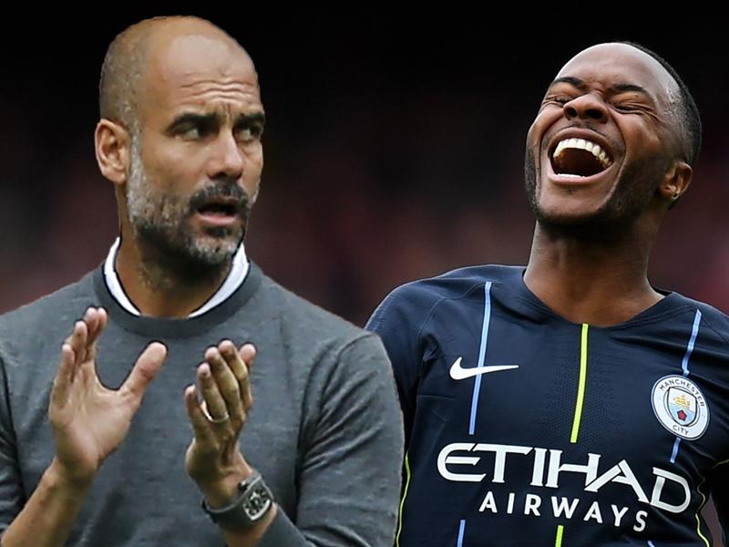 """Manchester City, Pep Guardiola veut que Raheem Sterling prolonge : """"Nous comptons sur lui"""""""