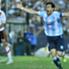 El Príncipe festeja el gol en contra de Funes Mori