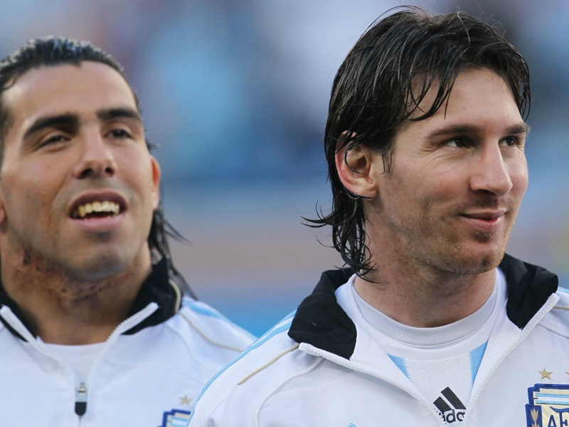 Tevez relishing Messi reunion