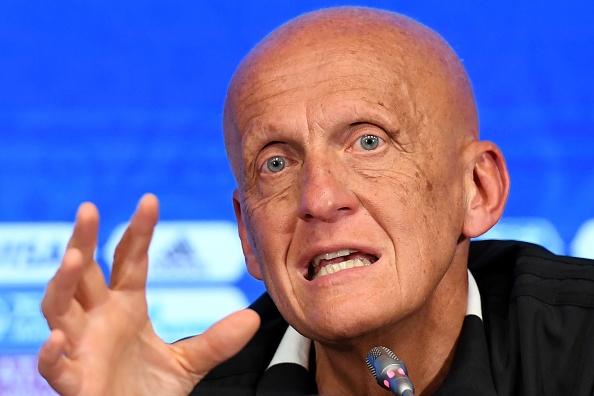 """Pierluigi Collina : """"L'UEFA prendra un jour la décision de mettre en place la vidéo"""""""