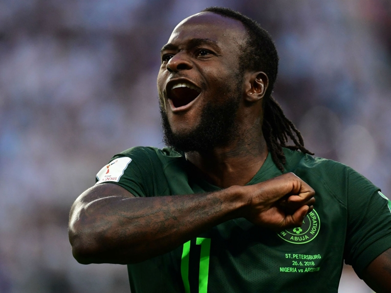 NFF president Pinnick to meet with Victor Moses on Super Eagles return