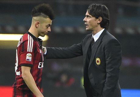 Faraone triste: il Milan è con El Shaarawy