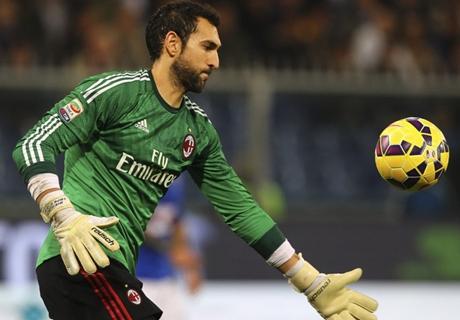 Milan, Diego Lopez a souffert dans les tribunes