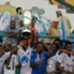 Enyimba lift the 2014 Federation Cup trophy