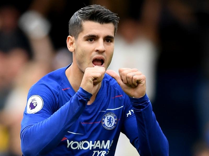 """Premier League - Alvaro Morata : """"Je n'ai jamais pensé à quitter Chelsea"""""""