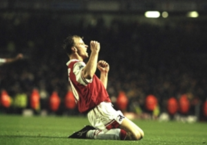 Arsenal 3-1 Tottenham | November 24 1996 | Ian Wright, Tony Adams and Dennis Bergkamp score as Arsene Wenger takes charge of his first north London derby