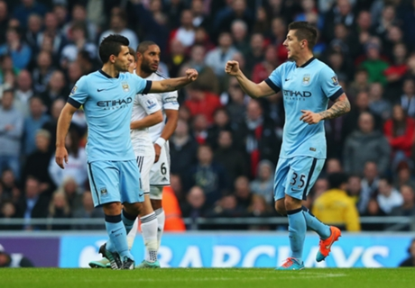 Aguero & Jovetic fit to face Bayern