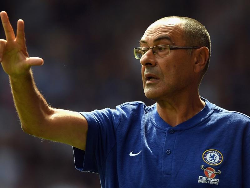 """Maurizio Sarri : """"Chelsea n'est pas encore un prétendant au titre de Premier League"""""""