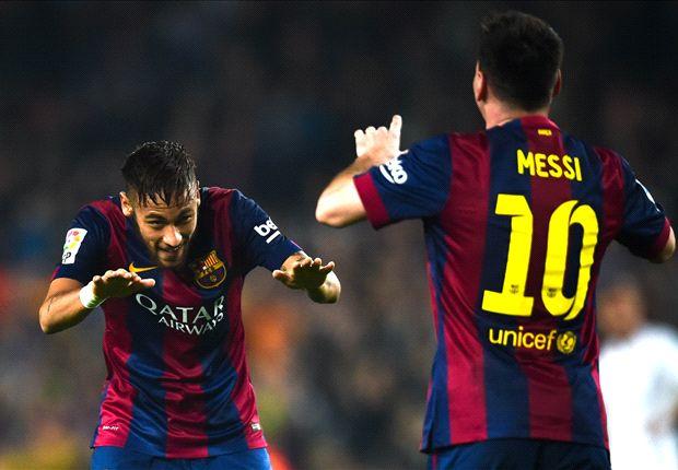 video messi fights neymar in keepy up challenge   goal