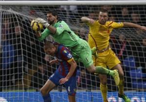 JULIÁN SPERONI | Las atajadas del arquero fueron fundamentales en la victoria de Crystal Palace sobre Liverpool.