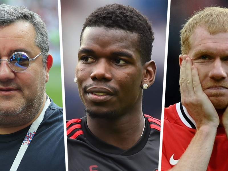 'Scholes should be Man Utd director of football & sell Pogba!' - Raiola ham...