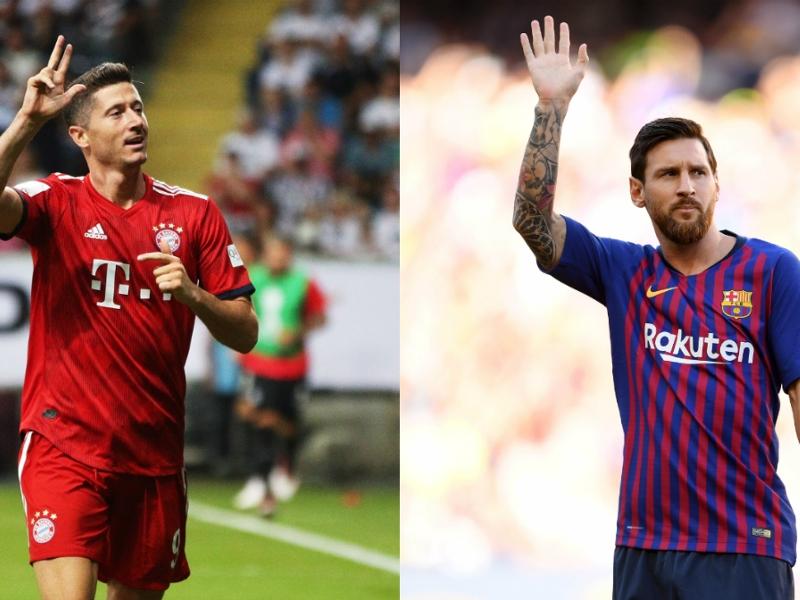 Ligue des champions - Classement des buteurs 2018-2019 : Messi et Lewandowski en tête