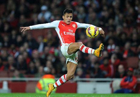'Alexis no different to Suarez & Aguero'