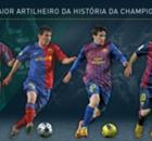 Messi, o homem-gol da Champions
